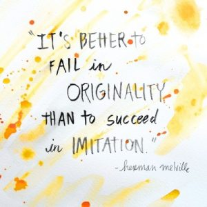 On Being Original
